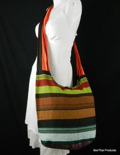 Hmong Hippie Hobo Sling Crossbody Bag Purse by BenThaiProducts, $10.99