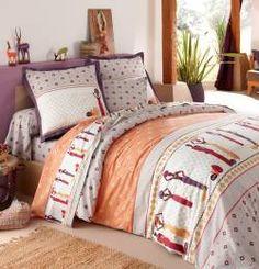 retour linge de maison linge de lit housse de couette et deux taies tribu d afrique lensemble housse de couette tribu dafrique est compos dune housse