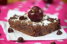 20. Cherry Chocolate Chip Brownies | 49 Gluten-Free Vegan Things To Bake This February