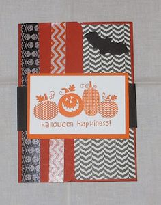 Gatefold File Folder Tab Card using Envelope Punch