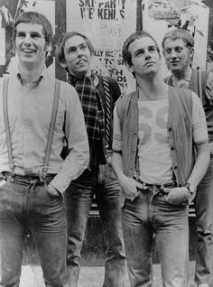Proto-Punk band Slade in their skinhead days in the 60s.