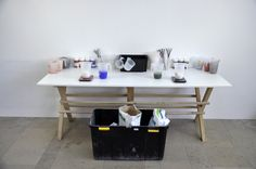Atelier préparation plâtre