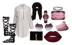 A fashion look from May 2017 featuring white shirt dress, black gladiator sandals and suede handbags. Browse and shop related looks. Steve Madden, Yves Saint Laurent, Mango, Gucci, Michael Kors, Shoe Bag, Polyvore, Stuff To Buy, Shopping