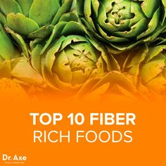Top 10 Fiber Rich Foods according to Dr.Axe—good for digestive health and more