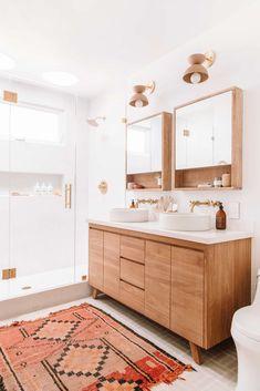 Why Designers Hate Most Medicine Cabinets (+ Some Genius Alternative Bathroom Storage Solutions) - Emily Henderson