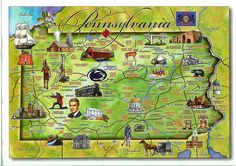 pennsylvania photos | USA – Pennsylvania | Remembering Letters and Postcards