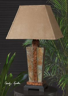 Amazing Tuscan Lamps, Tuscan Lighting, Tuscan Table Lamps. Uttermost 26322 1 SLATE,