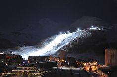 Sestriere: Provate l'emozione di sciare in notturna!