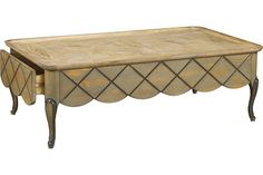 Lyon Rectangular Coffee Table at French Heritage