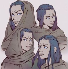 Artstation - eyes of ibad, mitch mohrhauser animazione character design, sc Dnd Characters, Fantasy Characters, Art Sketches, Art Drawings, Eyes Artwork, Image Manga, Poses References, Character Creation, Female Character Concept