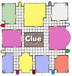 clue board game mansion printable detective notepad sheets