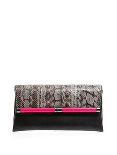 440 envelope clutch   Diane Von Furstenberg