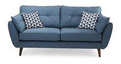 Zinc Express 3 Seater Sofa   DFS