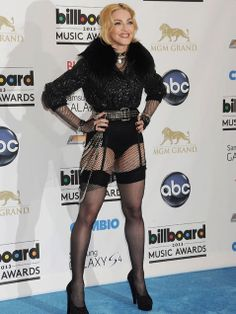 Yikes. Madonna. No words. http://www.ivillage.com/best-and-worst-dressed-fashion-billboard-music-awards/1-a-536677