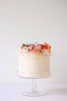 Pastel Spring Wedding Cake