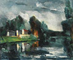 lawrenceleemagnuson:  Maurice de Vlaminck (France 1876-1958)...