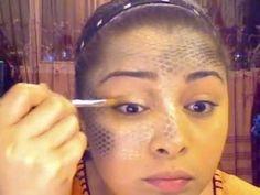 Maquillaje - escamas