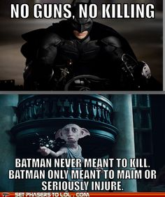 Batman's rules are bendable