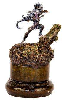 FRANCE 2011 - Warhammer Single Miniature - Demon Winner, the unofficial Golden Demon website