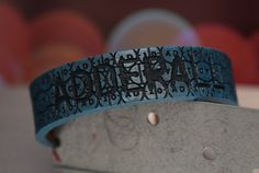 Gandhi Warhol Leather Adderall Bracelet on Etsy  https://www.etsy.com/listing/234197106/gandhi-warhol-leather-adderall-leather