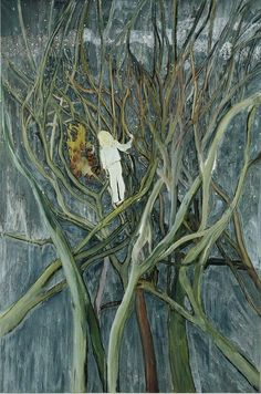"""Girl in White with Trees,"" 2001/2002, Peter Doig"