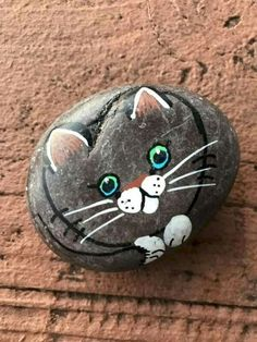 Painted rock animals - 50 Inspiring DIY Painted Rocks Animals Cats for Summer Ideas – Painted rock animals Pebble Painting, Pebble Art, Stone Painting, Diy Painting, Painted Rock Animals, Painted Rocks Craft, Hand Painted Rocks, Rock Painting Patterns, Rock Painting Ideas Easy