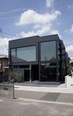 Private house.  Architect: THREE.BALL.CASCADE.Architecture Design Office. Location: Okayama City, Japan