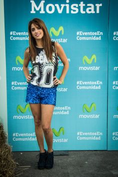 Gabriela Sari en el #MovistarFreeMusic Festival con #Jack Johnson.
