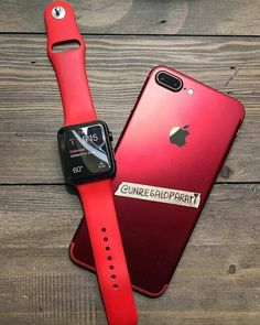 This is the ruby red iPhone 8 next to the red Apple watch. The apple watch was released on April while the iPhone 8 was released on September Iphone 7 Plus, Iphone 8, Apple Iphone, Coque Iphone, Free Iphone, Iphone Cases, Apple Desktop, Accessoires Ipad, Apple Coque