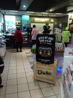 And they are giving away free samples for the first week in Z stores! Now that's a cool idea!