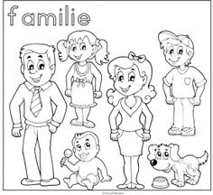 Family Clipart Stock Vector Illustration And Royalty Free