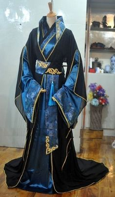 Basado en un edit chulo que vi por ahí ;) Wei Ying no fue llevado a … #fanfic # Fanfic # amreading # books # wattpad Style Oriental, Oriental Fashion, Asian Fashion, Hanfu, Fantasy Dress, Chinese Clothing, Japanese Outfits, Character Outfits, Historical Clothing