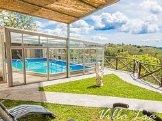 Haus+mit+Privatpool+beheizter+Decke+und+Panoramablick+auf+das+Meer+++Ferienhaus in Colline Metallifere von @homeaway! #vacation #rental #travel #homeaway
