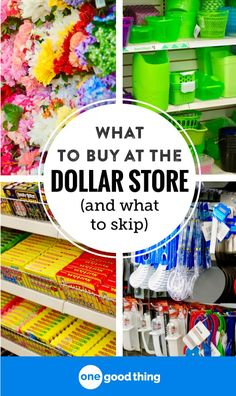 The dollar store can