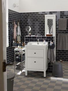 Hemnes bathroom ikea salle de bain pinterest deco for Hemnes salle de bain