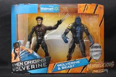Wolverine Origins - Wolvie & Beast  // Marvelicious Toys - The Marvel Universe Toy & Collectibles Podcast