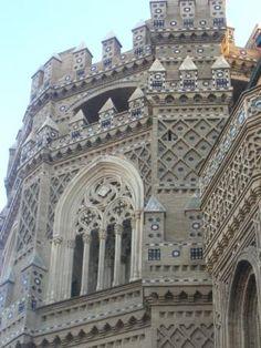 Zaragoza, Spain: Tile, ceramic use as building material.