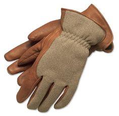 Orvis Deerskin Shooting Gloves