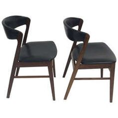 OnlineGalleries.com - A PAIR OF MID 20TH CENTURY DESIGN CHAIRS