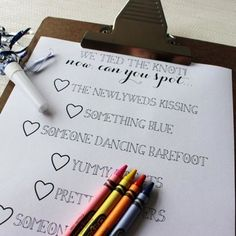 childrens activity book for wedding