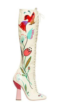 Would you wear it? Miu Miu boots
