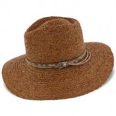 864a86f35170a Walrus Hats Raffia Straw Fedora Hat w  Band  womenshatswinter