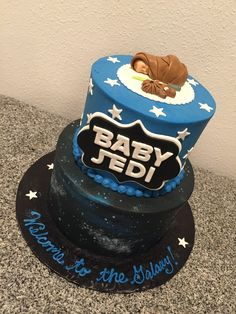 Star Wars Baby Shower Cake 2