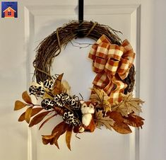 Make a Luxe Rustic Fall Wreath - lovemycottage Wire Wreath, Grapevine Wreath, Pumpkin Picking, Happy Fall, Pjs, Vintage Looks, Grape Vines, Decorative Items, Wreaths