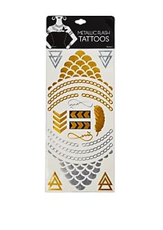 Metallic Foil Tattoos | rue21
