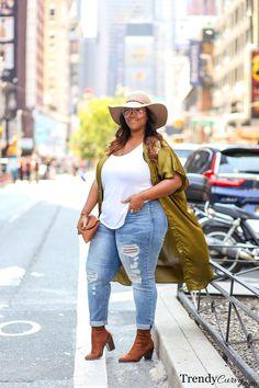 TrendyCurvy Travels: NYFW | Plus Size Fashion