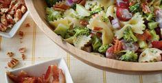 Pacanes grillées, brocoli et raisins...Un coup de circuit pour cet été - Recettes - Ma Fourchette
