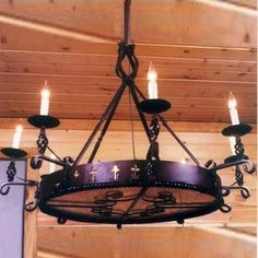 Spanish Colonial Chandelier  I LOVE THIS!!!!!!!