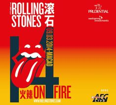 And Friends: Rolling Stones - Cotai Arena, Macau, 9 March 2014 Georgia May Jagger, For You Song, Macau, Concert Posters, Rolling Stones, Rock And Roll, Investing, Rolls, March 2014