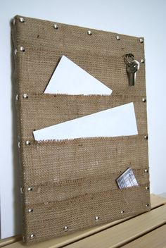 Mail Organizer / Mail Holder / Wall Mail by FarmToFrontPorch, $30.00
